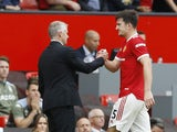 Manchester United captain Harry Maguire is substituted after picking up an injury against Aston Villa on September 25, 2021