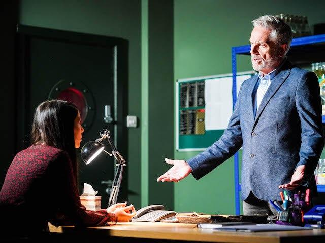 Brian Conley discusses shock EastEnders twist