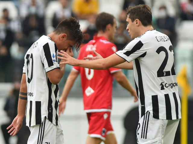 Paulo Dybala ruled out of Chelsea Champions League clash
