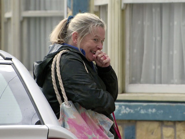 Bernie on the second episode of Coronation Street on October 13, 2021
