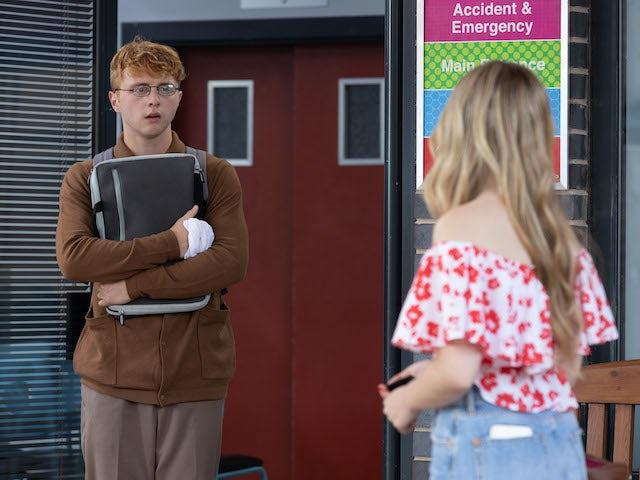 Timmy on Hollyoaks on September 27, 2021