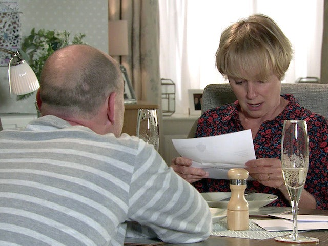 Sally on the first episode of Coronation Street on October 6, 2021