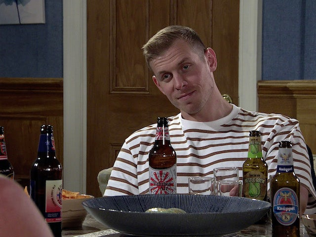 Leo on the second episode of Coronation Street on October 8, 2021