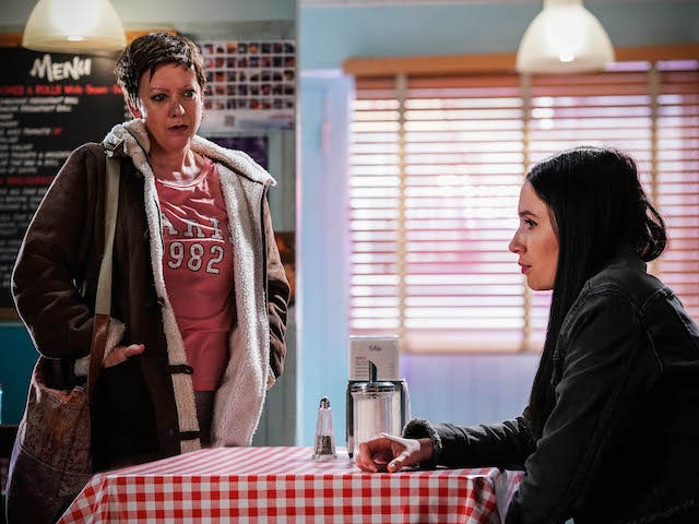 Sandy and Dotty on EastEnders on October 7, 2021
