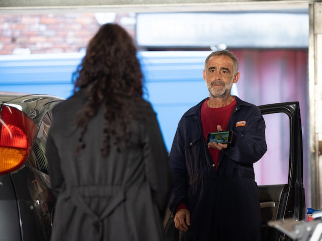 Kevin on the second episode of Coronation Street on October 4, 2021