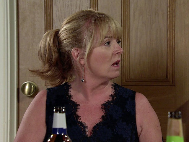 Jenny on the second episode of Coronation Street on October 8, 2021