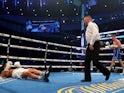 Callum Smith during his fight against Lenin Castillo on September 25, 2021