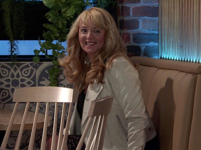 Jenny on the first episode of Coronation Street on October 13, 2021
