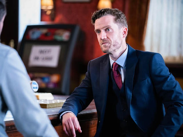 Lawyer on EastEnders on October 1, 2021