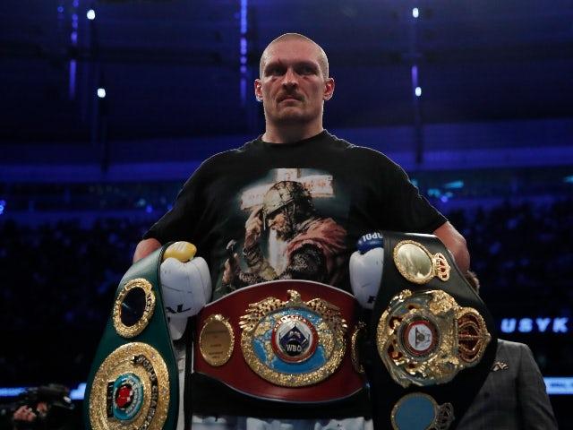 Oleksandr Usyk loves London but dreams of a rematch in Kiev
