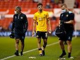 Wolverhampton Wanderers' Rayan Ait Nouri walks off injured in September 2021
