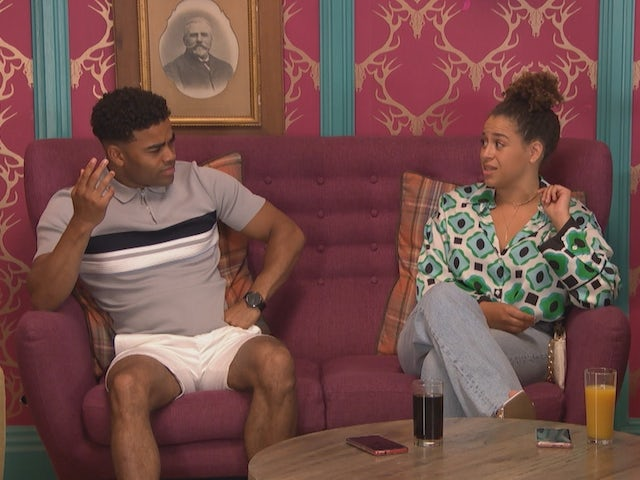 Prince and Olivia on Hollyoaks on September 29, 2021