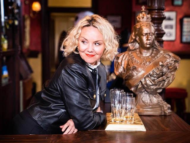 Janine on EastEnders on September 27, 2021