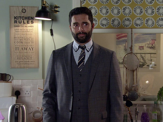 Imran on the second episode of Coronation Street on October 13, 2021