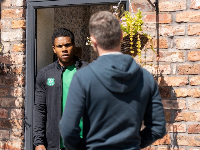 James on the second episode of Coronation Street on October 4, 2021