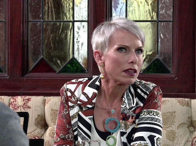 Debbie on the first episode of Coronation Street on October 4, 2021