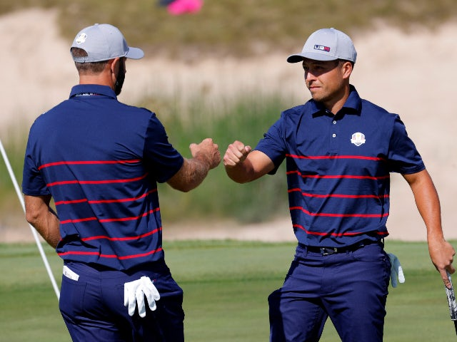 Advantage United States after opening session at Whistling Straits