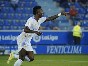 Real Madrid 'yet to open contract talks with Vinicius Junior'