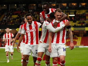 Late goals give Stoke victory at Watford