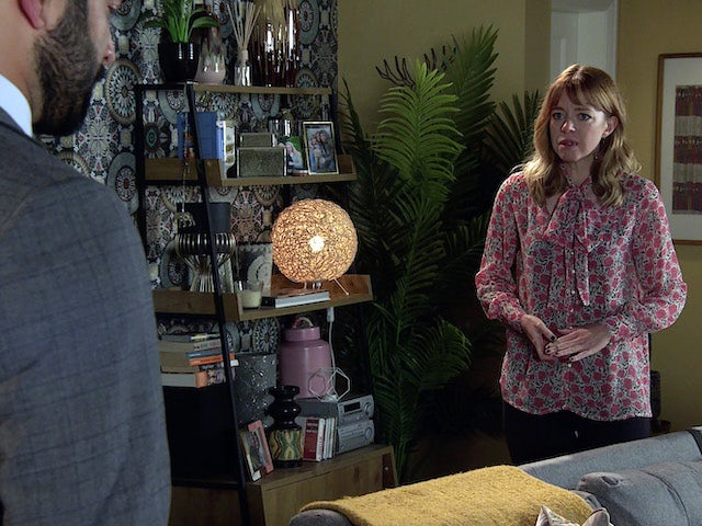 Toyah on the second episode of Coronation Street on October 13, 2021