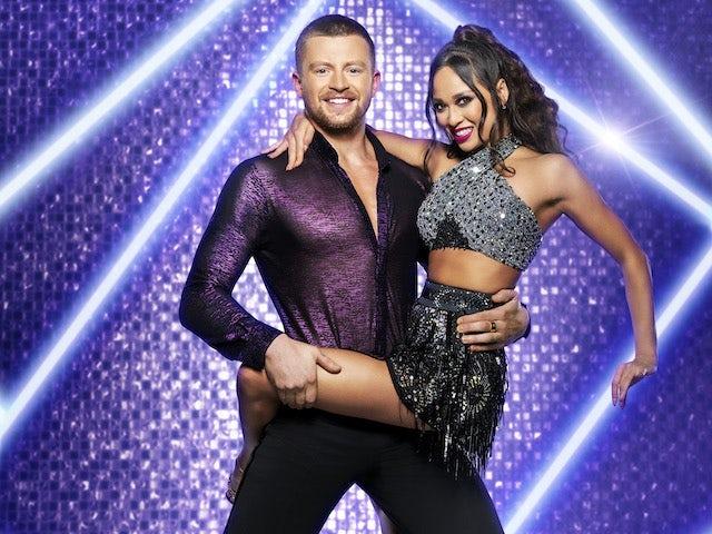 Adam Peaty and Katya Jones on Strictly Come Dancing 2021