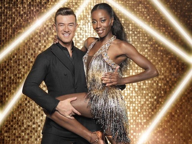 AJ Odudu and Kai Widdrington on Strictly Come Dancing 2021