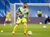 Arnaut Danjuma warms up for Villarreal in September 2021