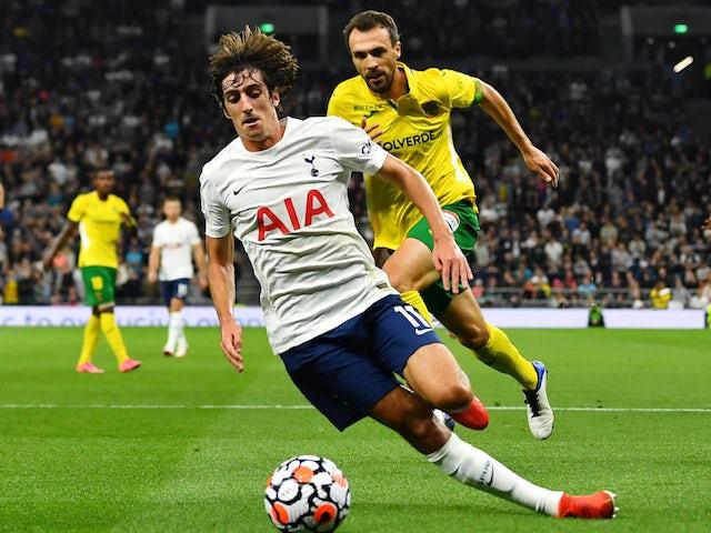 Tottenham Hotspur's Bryan Gil receives Spain call up