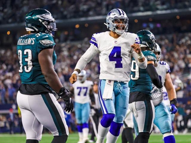 Result: Dak Prescott returns from injury to lead Dallas Cowboys over Philadelphia Eagles