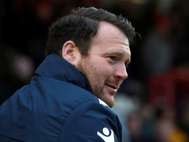 Darren Sarll, now in charge of Yeovil Town, pictured in 2018
