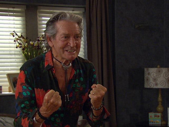 Rodney on the second episode of Emmerdale on October 7, 2021