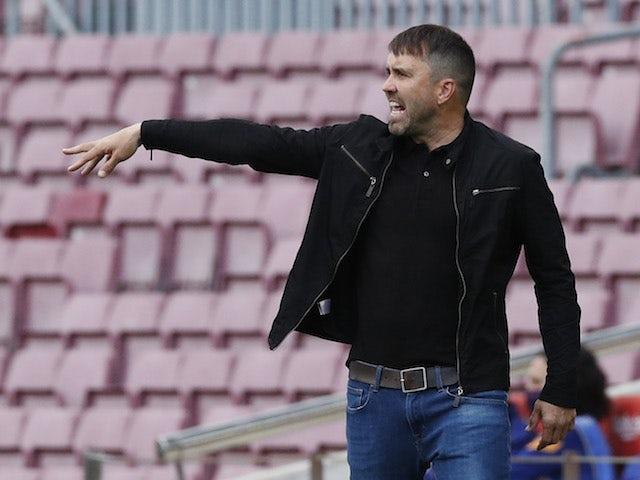 Celta Vigo head coach Eduardo Coudet pictured in May 2021