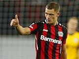 Bayer Leverkusen's Florian Wirtz pictured on September 16, 2021