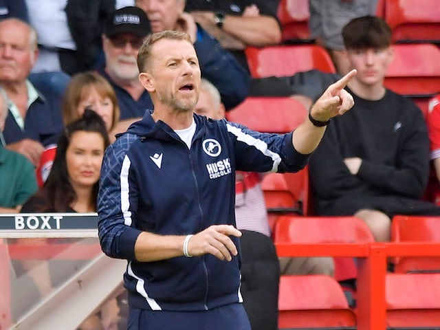 Millwall manager Gary Rowett pictured on September 25, 2021
