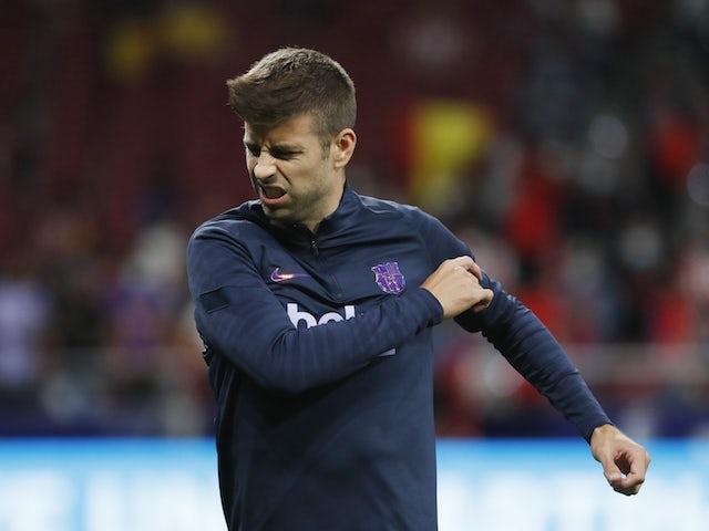 Pique admits Barcelona