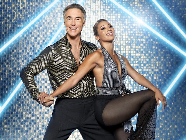 Greg Wise and Karen Hauer on Strictly Come Dancing 2021