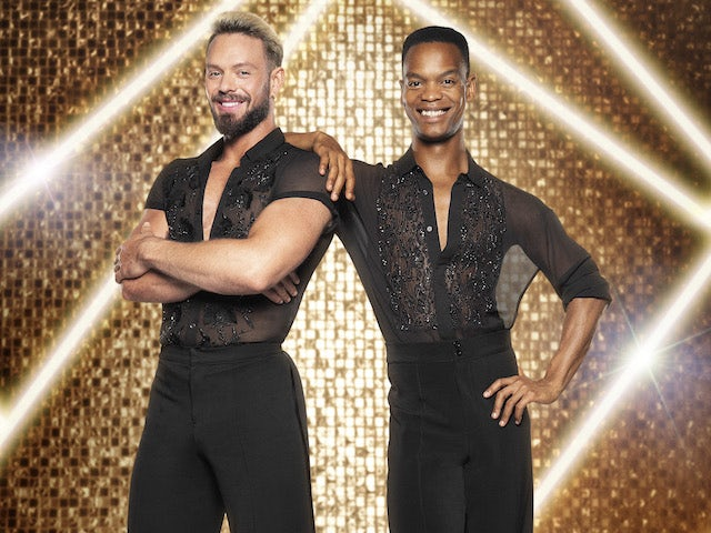 John Whaite and Johannes Radebe on Strictly Come Dancing 2021