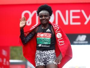 Kenya's Joyciline Jepkosgei wins women's elite London Marathon