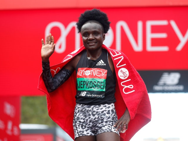 Result: Kenya's Joyciline Jepkosgei wins women's elite London Marathon