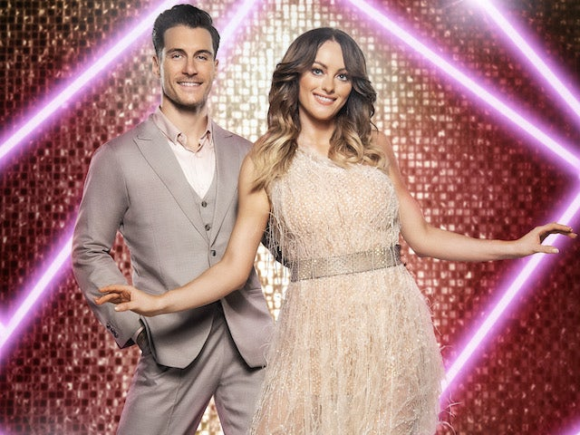 Katie McGlynn and Gorka Marquez on Strictly Come Dancing 2021