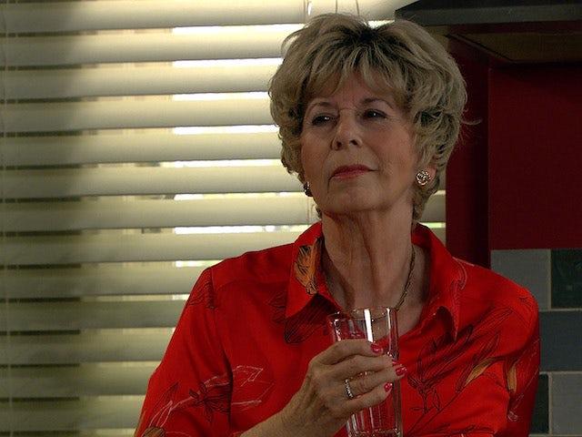 Diane on the second episode of Emmerdale on October 7, 2021