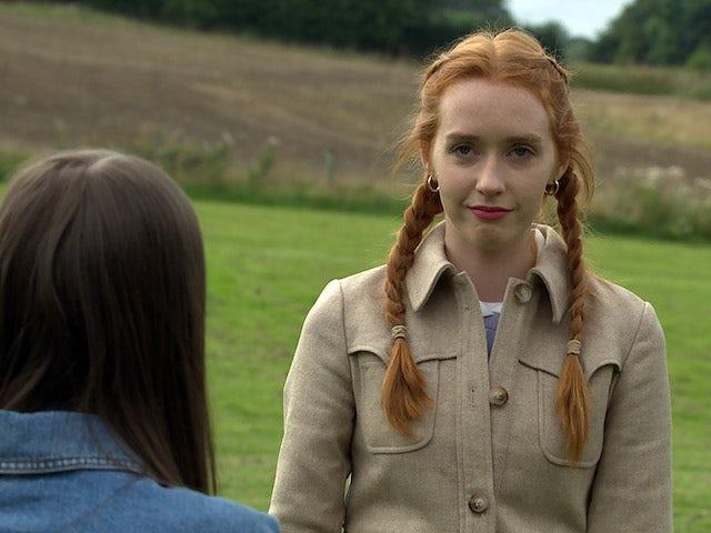 Chloe on Emmerdale on September 27, 2021