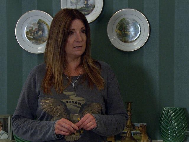 Harriet on the second episode of Emmerdale on September 30, 2021