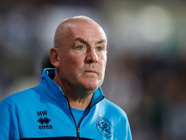 Queens Park Rangers (QPR) manager Mark Warburton pictured on September 24, 2021