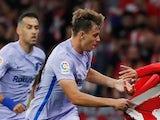 Barcelona's Nico Gonzalez pictured on October 2, 2021