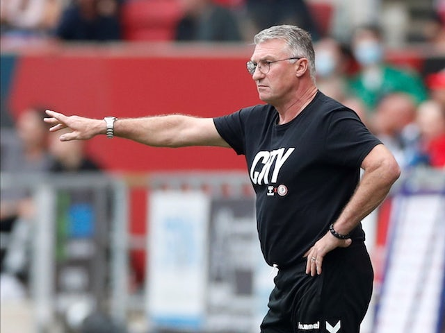 Bristol City manager Nigel Pearson pictured on September 25, 2021