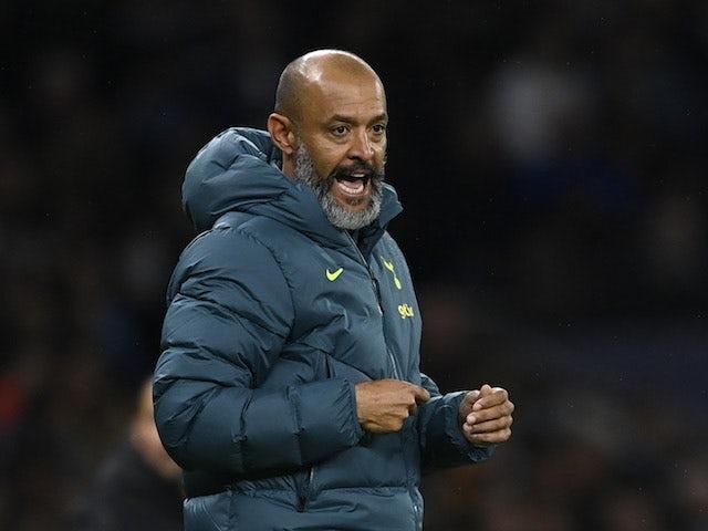 Tottenham Hotspur manager Nuno Espirito Santo on September 30, 2021