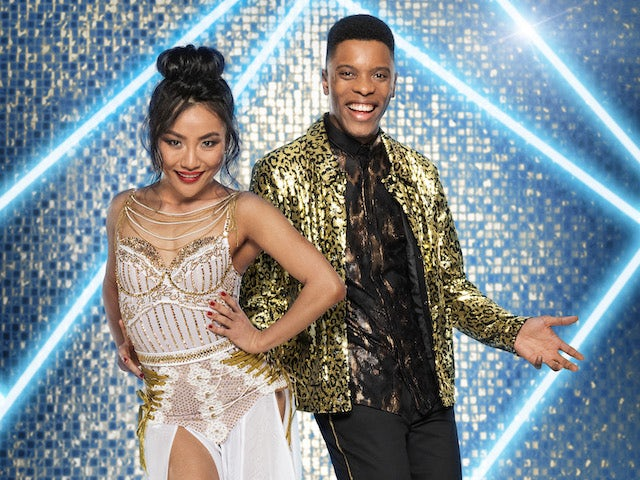 Rhys Stephenson and Nancy Xu on Strictly Come Dancing 2021