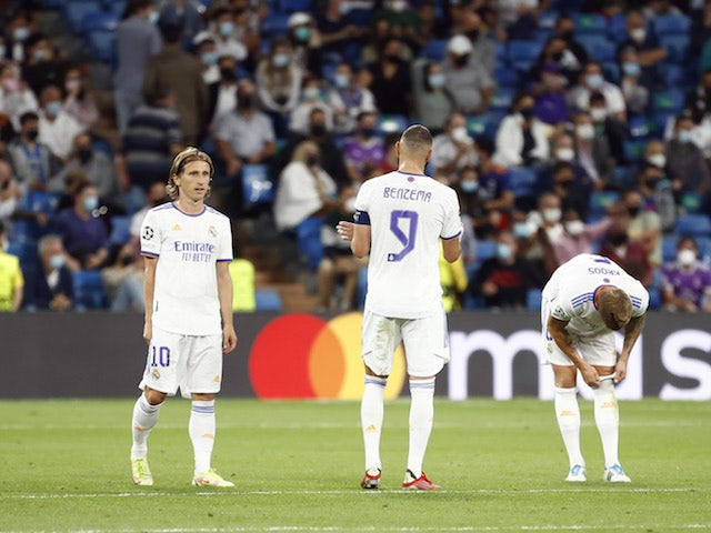 How Real Madrid could line up against Espanyol