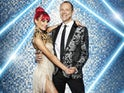 Robert Webb and Dianne Buswell on Strictly Come Dancing 2021